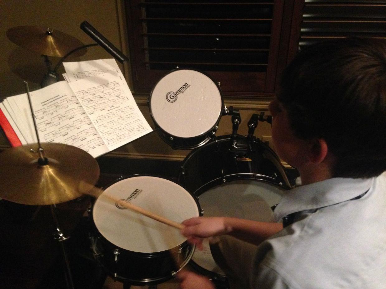 Drum Student