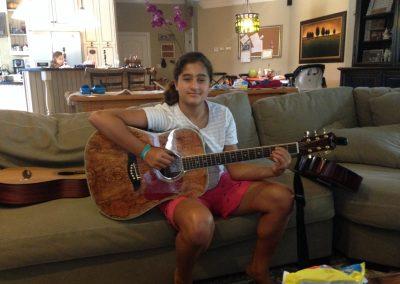 Gracie D. - guitar