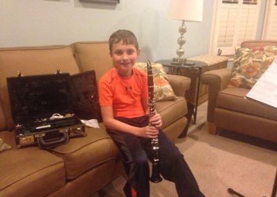Gavin B. - Clarinet