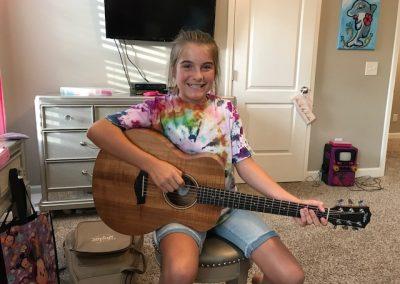 Kayleigh B. - guitar