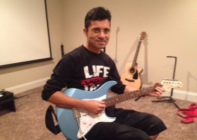 Prithwi D. - guitar